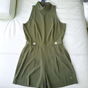 NWT kaki green Tommy Hilfiger one-piece